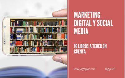 16 mejores libros de Marketing Digital y Social Media
