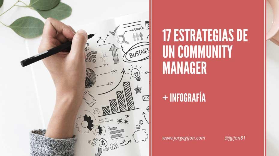17 estrategias imprescindibles de un Community Manager