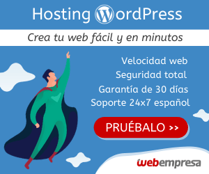 hosting wodpress webempresa