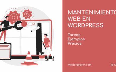 ¿Qué es el mantenimiento web y en qué consiste? Tareas + ejemplos